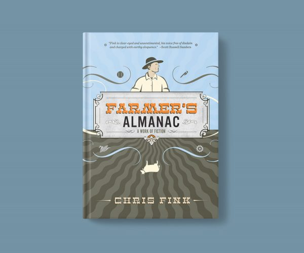 Farmer's Almanac book design