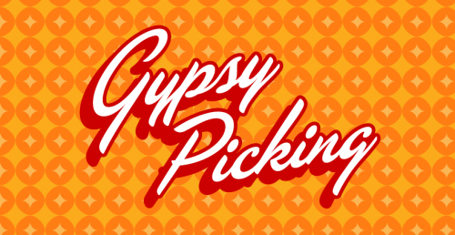 Gypsy Picking book design