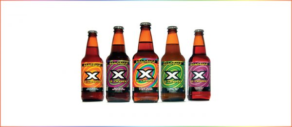 X-Drinx beverage packaging