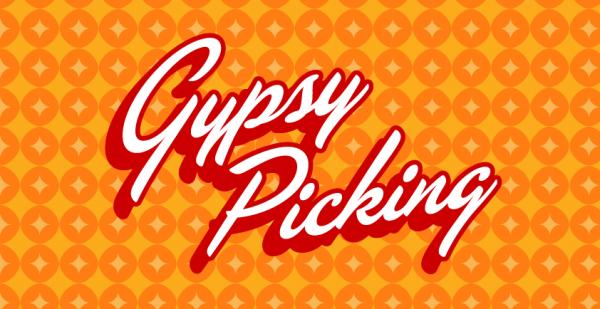 Gypsy Picking book design