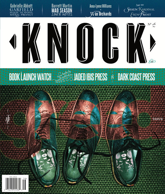 KNOCK 16 magazine design