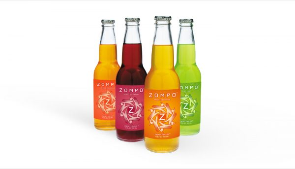 Zompo beverage package design